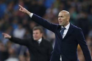 laliga: zinedine zidane's real madrid move to top of table with victory over osasuna; atletico beat mallorca