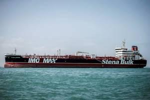 UK tanker Stena Impero detained in Iran 'set to leave port for Dubai'