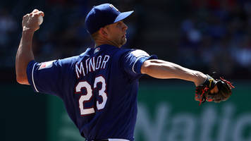 friday's hot clicks: red sox-rangers devolves into farce over minor's 200th strikeout