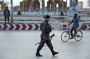 blast hits afghan polling centre, 15 injured