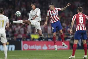 real madrid stays top of la liga after goalless draw with atletico madrid