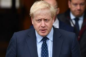 boris johnson 'tells tory conference he doesn't want sturgeon anywhere near climate summit in glasgow'