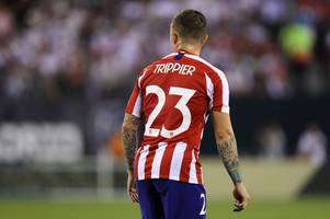 'trippier come back!' - spurs fans send message to atletico madrid star after aurier red card