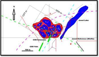 ggx gold starts drilling to test deep geophysical target - historic gold mining camp - greenwood bc