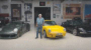 three generations of ruf's ctr visit jay leno's garage