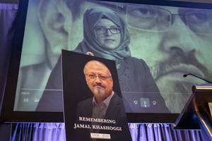 'i have a huge responsibility': one year after his murder, jamal khashoggi's fiancée carries his flame
