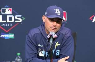Kevin Cash discusses Rays' savvy roster moves this season, upcoming ALDS against Houston