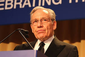 audience members trash bob woodward's moderation of #metoo talk: 'aggressive and uninformed'
