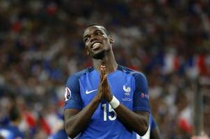 injured pogba out of france squad as mbappe and kante return
