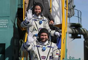 uae's first astronaut leaves iss, touches down in kazakhstan