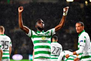 celtic 2 cluj 0 as odsonne edouard runs riot and fires hoops top of europa league group - 3 talking points