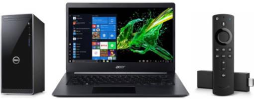 ET Deals: Acer Aspire 5 Intel Core i7 14-Inch 1080p Laptop $529, Dell Inspiron Core i5 Desktop $449, Amazon Fire TV Stick 4K $24