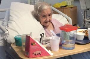 a 101-year-old 'game old bird' can now rest in peace following tragic death