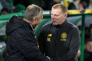 celtic boss neil lennon has quick-witted reply to dan petrescu's hoops europa league claim