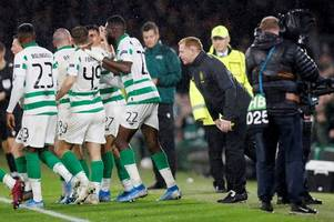 celtic rewrite cluj script as horror show makes way for exciting new twist - keith jackson's big match verdict