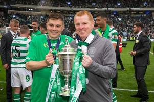 james forrest ribbed as celtic boss neil lennon makes humorous prediction ahead of book launch