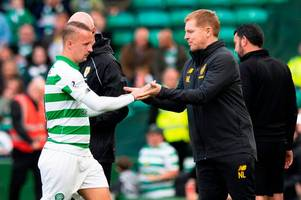 neil lennon in leigh griffiths celtic promise as he opens up on striker's fitness fight