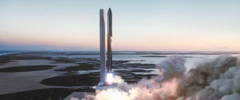 elon musk's new starship would be a monster rocket if built. here's how the spacex launch system compares to nasa's 2 biggest rockets and 2 early prototypes.