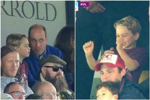Aston Villa fans are all saying the same thing as Prince George celebrates Norwich City rout