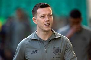 callum mcgregor set for new celtic deal as hoops look to stave off leicester interest