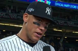 Aaron Judge said his teammates make his job easy in the No. 2 spot in the lineup