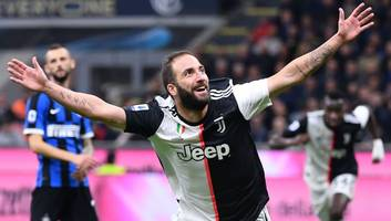 inter 1-2 juventus: report, ratings & reaction as higuain helps serie a champions lay down marker
