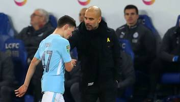 pep guardiola claims manchester city can't win titles with academy products