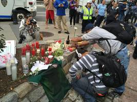 memorial for 4 murdered men: 'for the love of god build housing for homeless new yorkers'