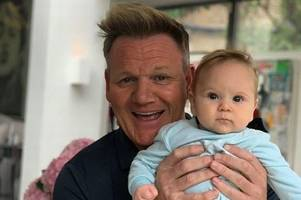 Gordon Ramsay shares cute picture with lookalike son after haircut