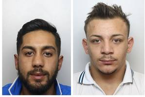 thieves who went on a 75-mile crime spree in just one day jailed