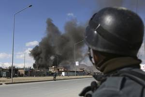 afghan official says bomb kills at least 10 in eastern city