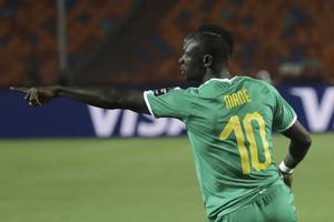 african players in europe: mane faces brazil after starring for reds