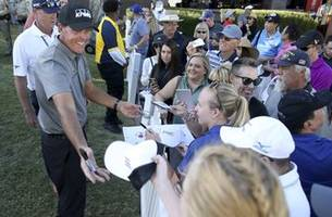 column: mickelson racing the clock and spinning his wheels