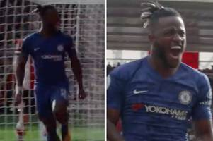 chelsea fans hail 'passionate' michy batshuayi in unseen southampton footage
