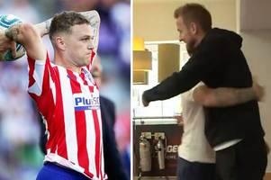 tottenham fans love ex-star kieran trippier's question to harry kane on reunion