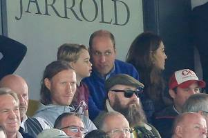 This is what Prince William told beaming Prince George as Aston Villa thumped Norwich City