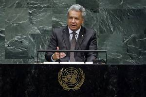 ecuador cracks down on protesters over austerity & imf loan, president moves govt from capital ...