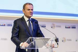 tusk says brexit not 'stupid blame game'