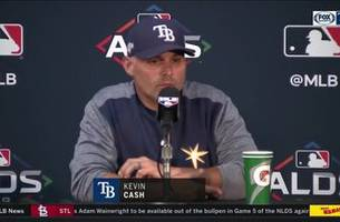 ALDS Game 4: Rays manager Kevin Cash on relay play, beating Verlander and Astros