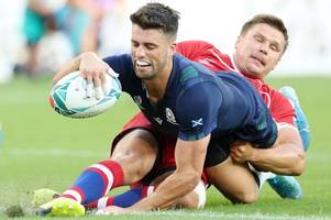 Who is Adam Hastings? The Hartpury hero turned Rugby World Cup points machine for Scotland