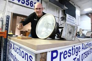 40 floodlights from Grimsby Town stadium set to go up for auction later this year
