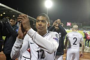 kylian mbappe to miss france's euro qualifying matches