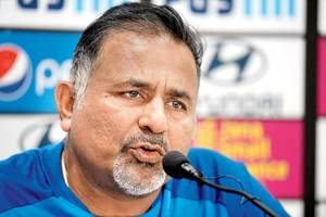 Bowling Coach Bharat Arun: We work on bowling; don't look at pitch