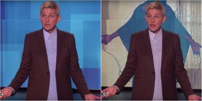 Ellen DeGeneres is trying to block a video slamming her controversial friendship with George W. Bush but it's gone viral