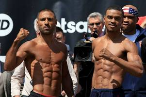 errol spence sent best wishes by kell brook as ferrari crash hospitalises boxer