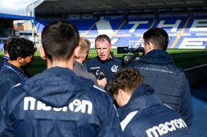 bristol rovers manager graham coughlan shares the praise for september manager of the month nomination