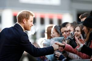 Live updates: Prince Harry returns to Nottingham to mark World Mental Health Day
