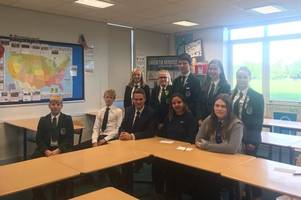 world mental health day: gloucestershire's flagship school for helping students face their problems becomes one of the first to trial new lessons