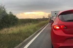 Live updates after A428 collision causing long traffic delays