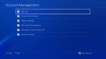 how to change your ps4 password, or reset your password if you've forgotten it